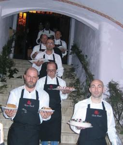 Die netten Kellner - ein besonderes Abendessen in der Toskana - Capella dei Medici