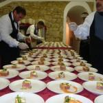 Ein besonderes Abendessen in der Toskana - die Chefköche bei der Arbeiti