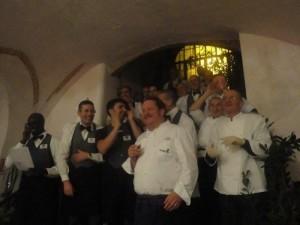 Ein besonderes Abendessen in der Toskana - musikalisches Ständchen