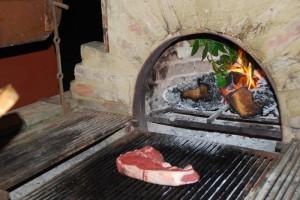Das beste bistecca fiorentina aus der Metzgerei Davide - Lari
