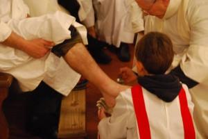 Fußwaschung Ostern Toskana