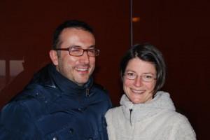 Kerstin und Alessandro vom Weingut - Toskana