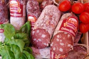 Salamiprobe Toskana