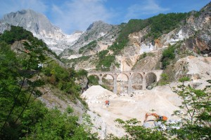 Anfahrt Jeeptour Carrara