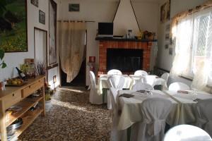 Restaurant im Marmorsteinbruch Toskana
