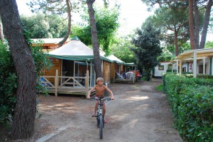 Bungalows Campingplatz Toscana