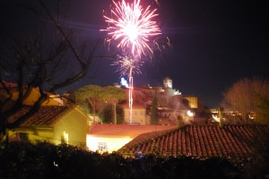 Neujahr Toskana