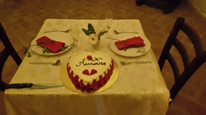 Hochzeitstorte Toscana - Romantisch zu Zweit