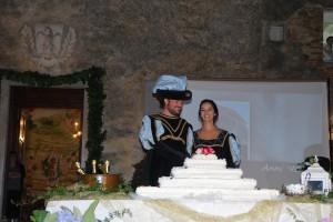 Hochzeitstorte Toskana um Mitternacht Toskana