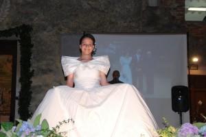 Kleid für Hochzeit Toscana