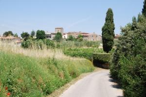 Dorf Toskana Immobilie
