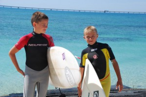 Surfen lerne für Kinder Toskana/ Vada