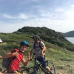Mountainbik oder ebike fahren in der Toscana, ride & fun