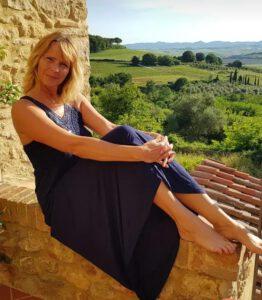 Kristina Schmidt in der Toskana